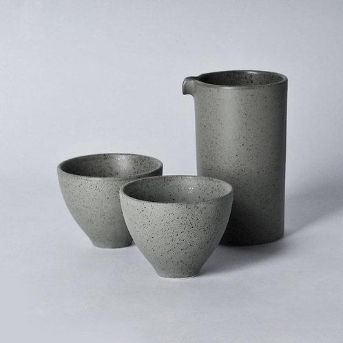 Loveramics BREWERS Specialty Jug with 2pcs Floral Tasting Cup Set - Granite