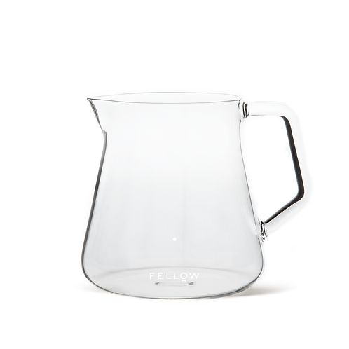 Fellow Mighty Small Glass Carafe Coffee Server 500mL - Clear