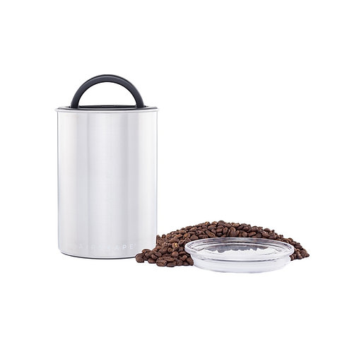 "Airscape Vacuum Airtight Canister 7"" Stainless Steel 500g"