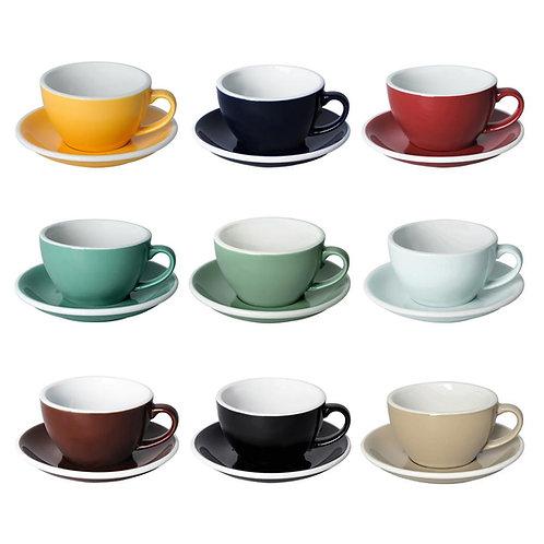 Loveramics EGG 250ML CAFE LATTE ART CUP & SAUCER