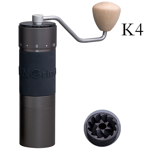 Kingrinder Heavy Duty Precision Manual Hand Coffee Grinder - K4