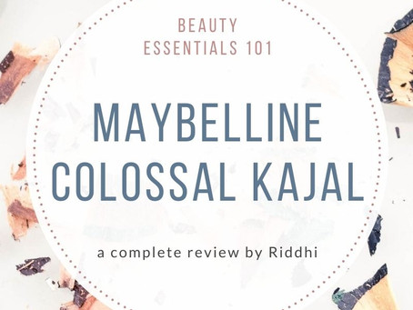 Maybelline New York Colossal Kajal Review