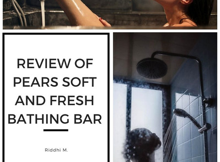 Pears Soft and Fresh Bathing Bar Review