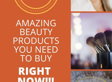 5 New Beauty Products You Need to Get Right Now!