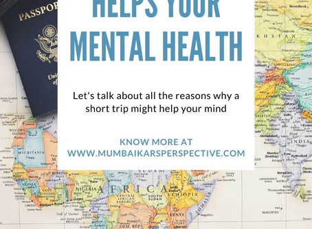 How Travelling Helps Your Mental Health