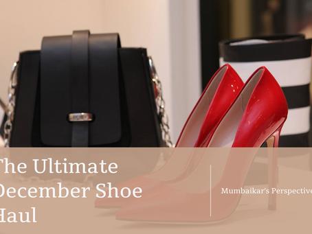The Ultimate December Shoe Haul