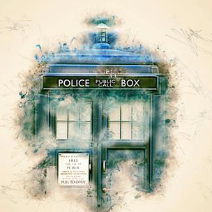 Dr Who Series - Tardis