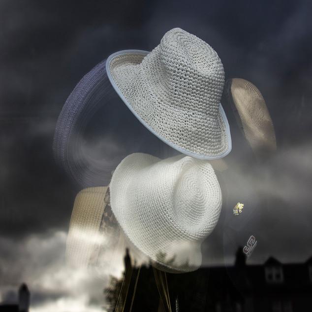 Hats in the window