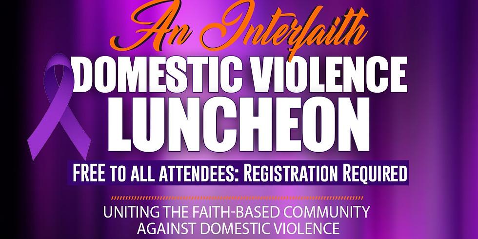 Interfaith Domestic Violence Luncheon