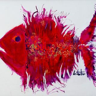Red Lahaina Fish
