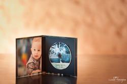 CD simples com imagem interna