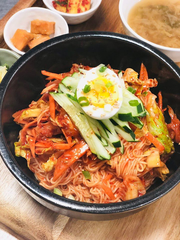 kimchi cold noodle (summer special)