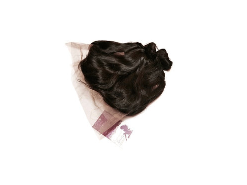 360 degrees virgin Peruvian Natural Lace frontal - Loose wave