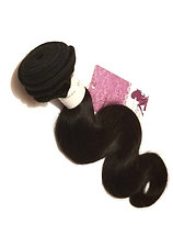 1 bundle body wave virgin Peruvian human hair