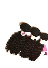 Deep wave, 3 bundle virgin Peruvian human hair