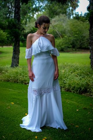 שמלת כלה עם וולן מקולקציה בתפירה אישית