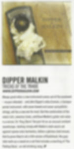 Dipper Malkin Acoustic Magazine Review
