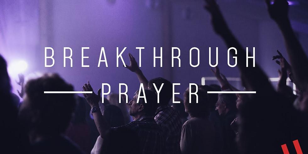 Breakthrough Thursday Prayer Session