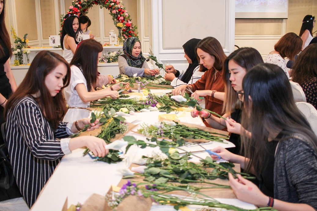 Mamonde Launch Preview Event -Flower Beauty Class