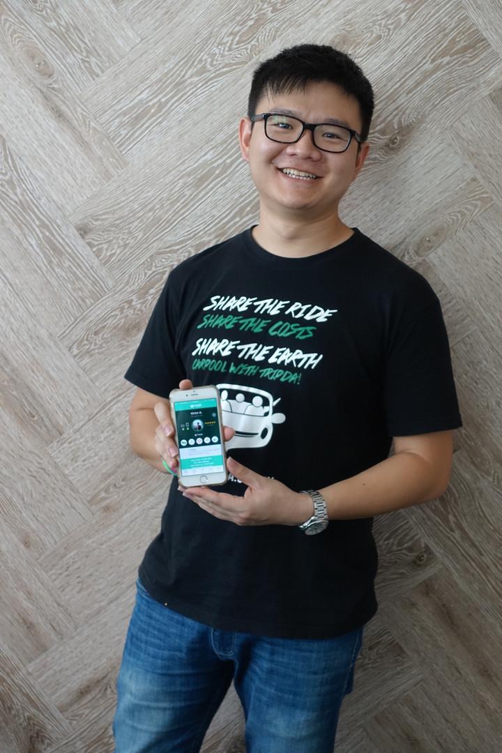 Victor Ang, Managing Director of Tripda