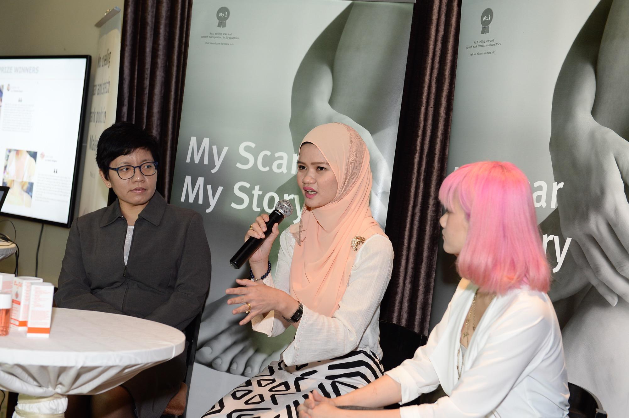 Bio-Oil'My Scar, My Story' Grand Prize Winners
