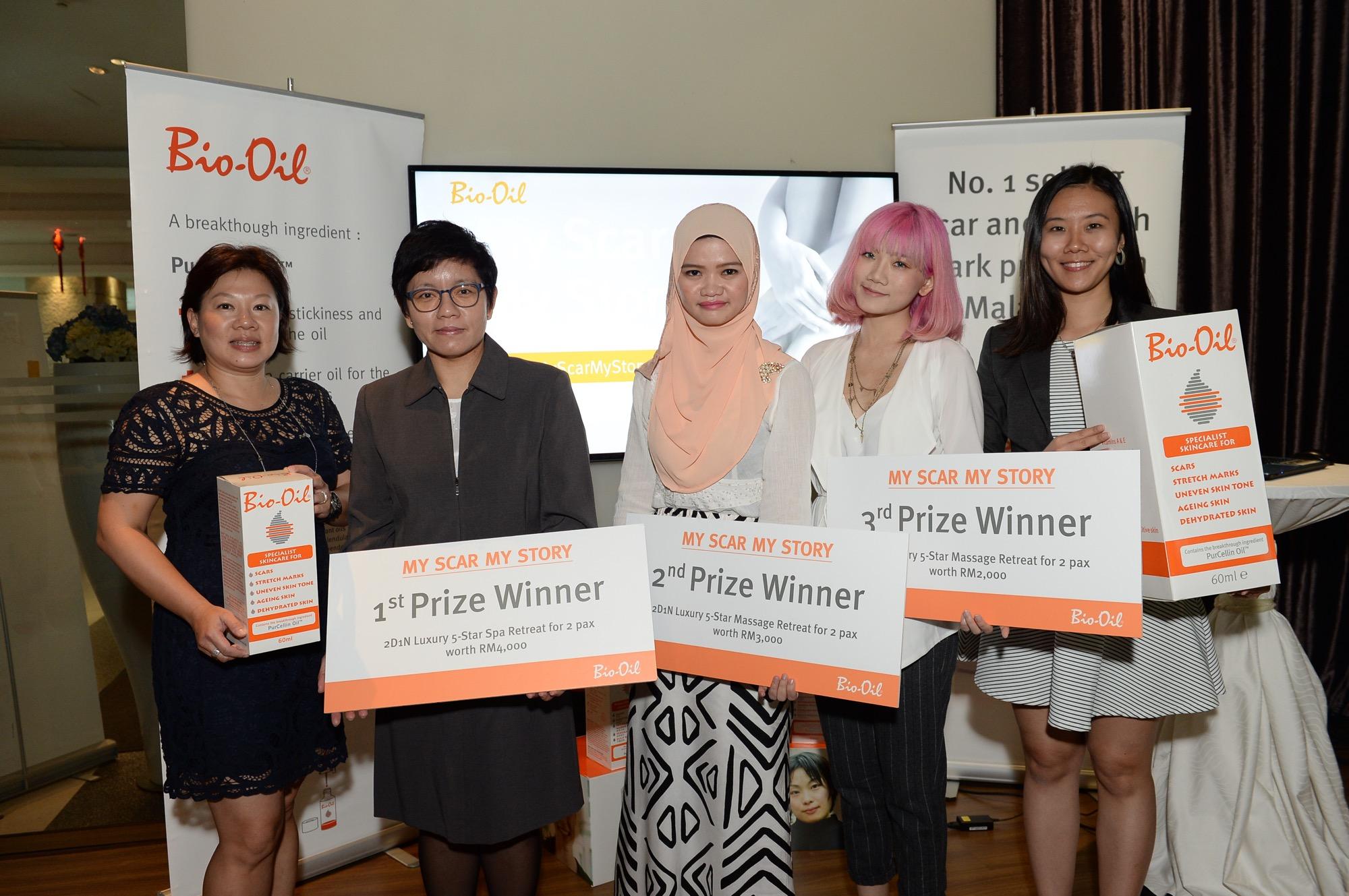 L to R- Low Hooi Wan, Caroline Yap, Hajarul Falenna, Arisa Chow, Stephanie Ng