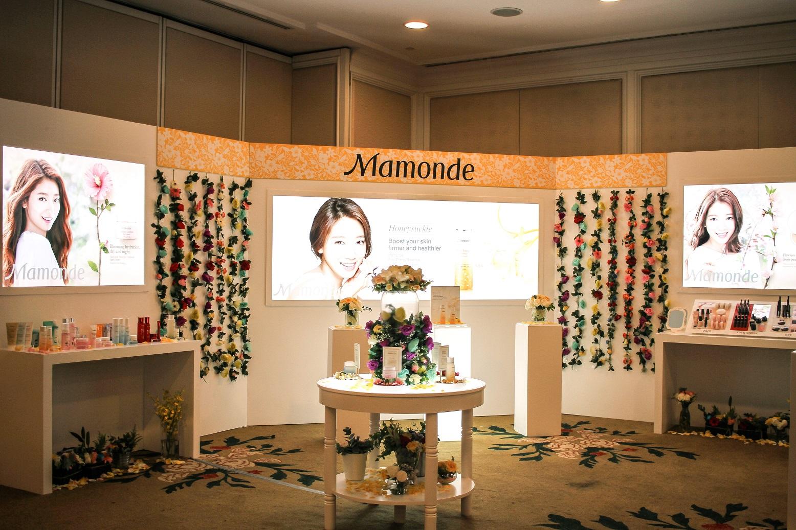 Mamonde Product Experience Area
