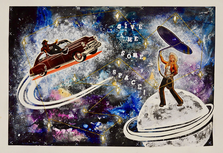 karocrafts, karo., karo art, karo. art, karo mixed media, anya salmen, anya carolyn, anya, anya art, anya carolyn salmen, mixed media, space mixed media, space art, space collage