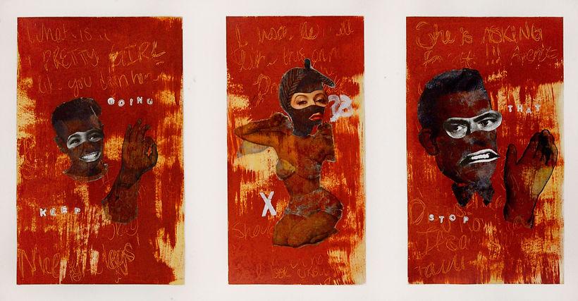 anya salmen, anya carolyn, mixed media, feminist art, feminism, pastiche, postmodernism, postmodern art, anya salmen art, anya carolyn art