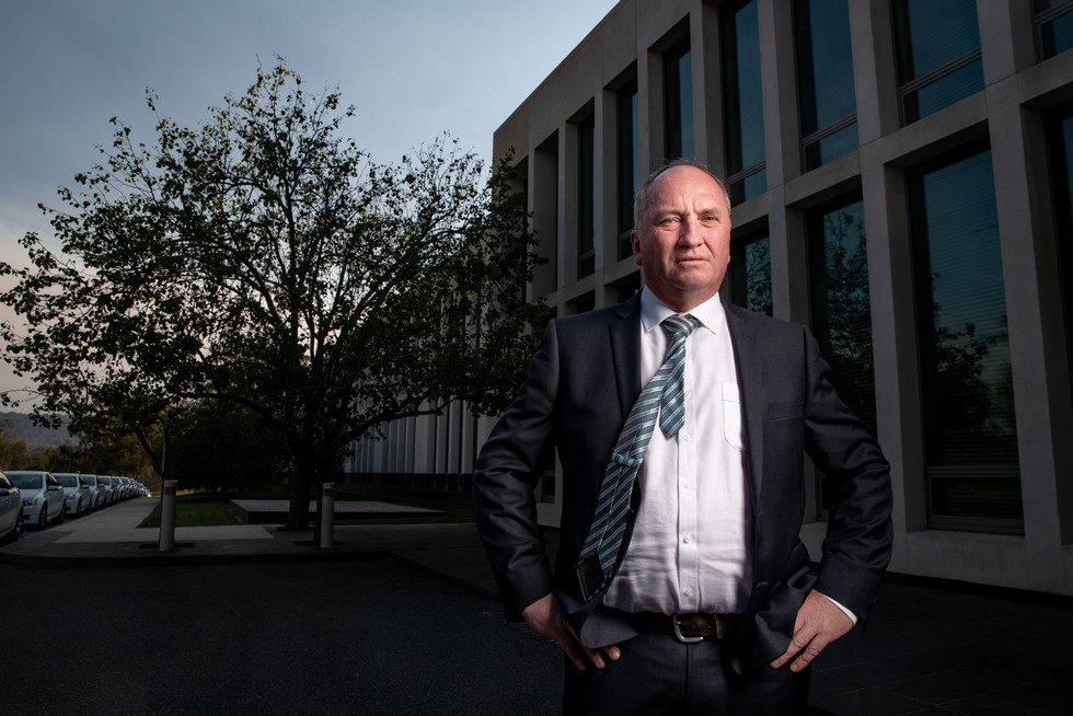 Campaigning on an anti-environment platform, Member for New England Barnaby Joyce mounted an unsuccessful challenge for the Nationals leadership on 4 February 2020.