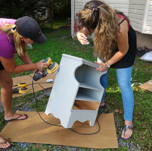 Furniture Painting and Distressing Class