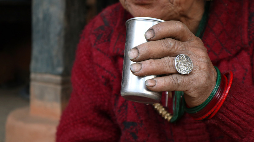 Bishnu Kumari Rai, who has been drinking her whole life, does not drink much now, at 71, and even when she drinks, she says that she does not create a scene like others.