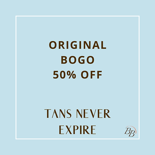 Original BOGO 50% OFF