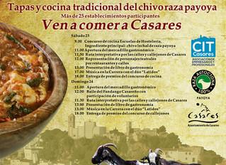 Tapas y cocina de chivo lechal de raza autóctona 100% Payoya en las II jornadas gastronómicas degust