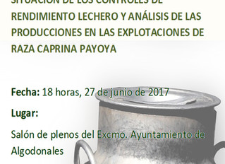 """Jornada Técnica """"Situación de los controles de rendimiento lechero y análisis de las produccion"""