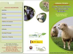 Las razas autóctonas en la ganadería ecológica. Jornadas Técnicas.
