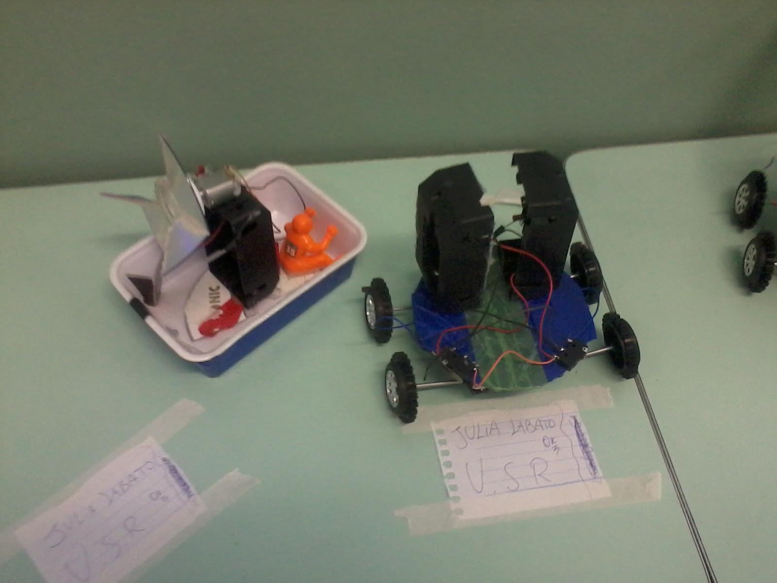 Barco e Beetlebot
