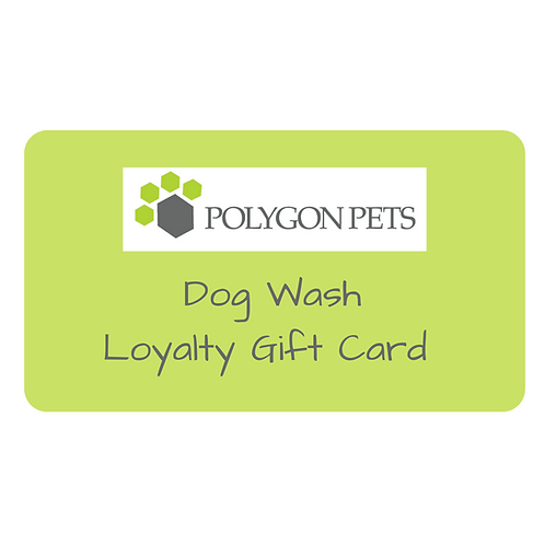 Dog Wash Loyalty Gift Card - enjoy 20% extra