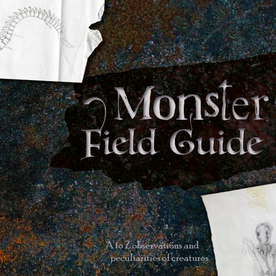 Book cover for the Monster Field Guide