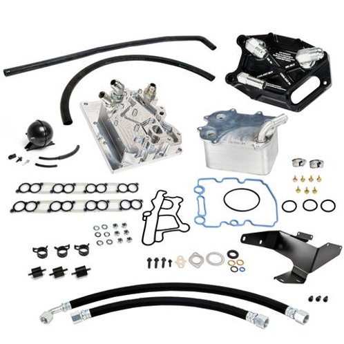 BulletProof Oil Cooler Relocation - Factory Oil Filter - Remote Mounted Oil Cool