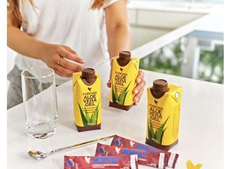 Promotion : pour 3 mini Pulpes d'Aloe vera (330ml) achetées, 3 sticks de Forever Argi+ OFFERTS !