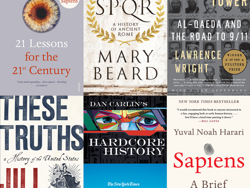 Five Books and Two Podcasts (for the Modern World)