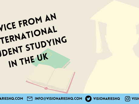 Advice from an international student studying in the UK