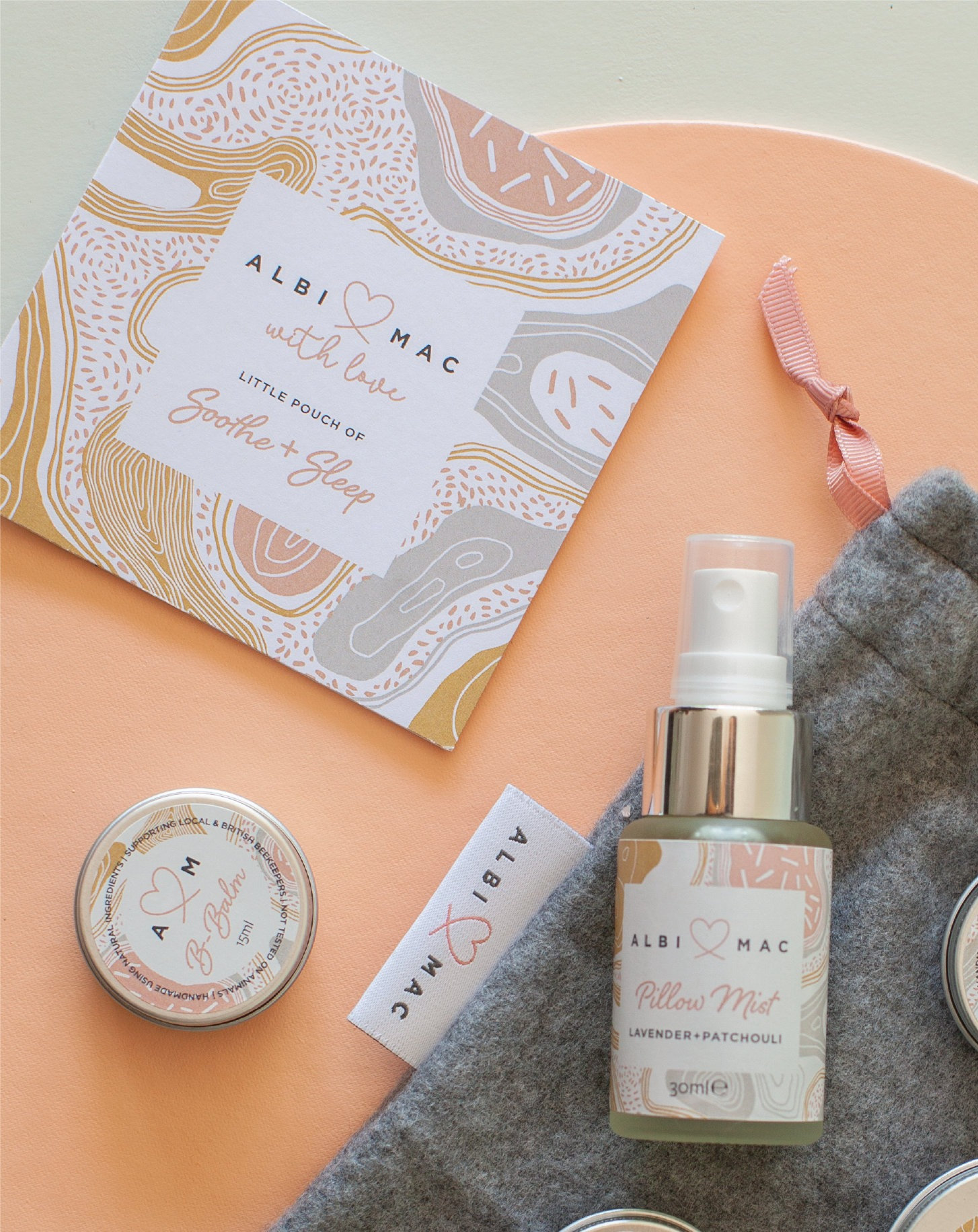 Balms and pillow mist in a £100 gift box