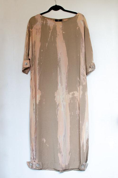 Vestido Martingale Tie-dye