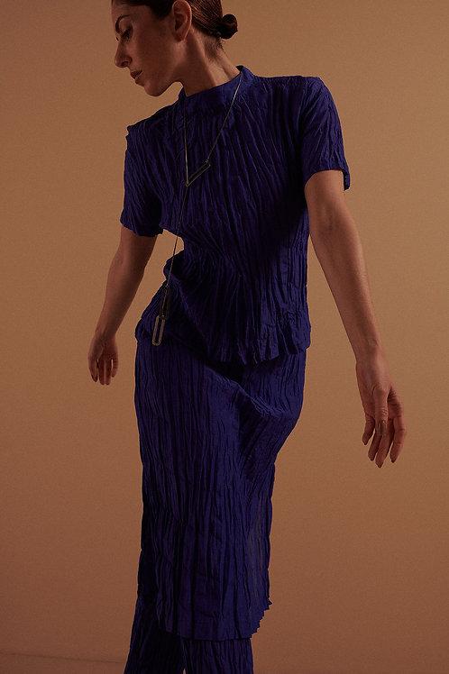 Blusa T-shirt Voil Edição Azul