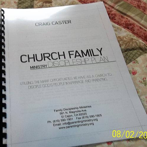 Church Family Ministry Discipleship Plan