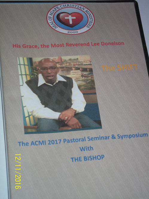 The 2017 SHIFT Pastoral Seminar & Symposium Presentation