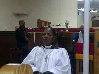 Elder Michelle Brown ordained
