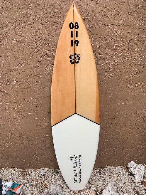 MODERN LOVE Autograph Surfboard